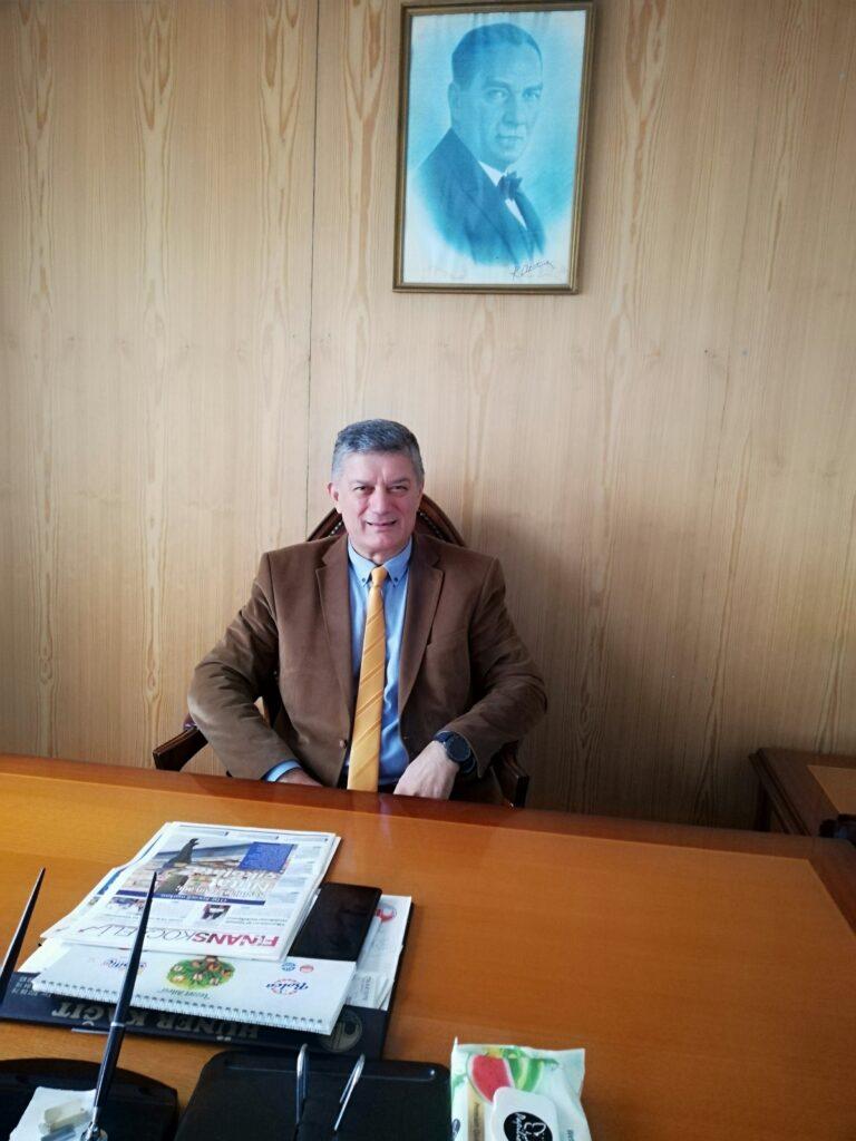 KOTKO Toptancılar Sitesi Başkanı Birol Öztürk