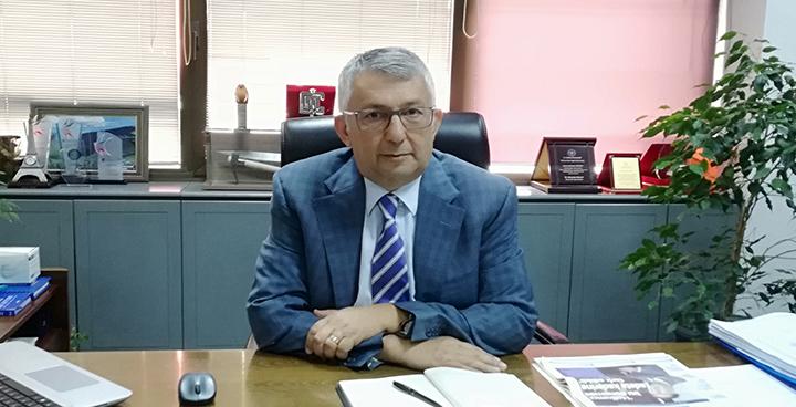 Dilovası Organize Sanayi Bölgesi Yönetim Kurulu Başkanı Mustafa Türker'den
