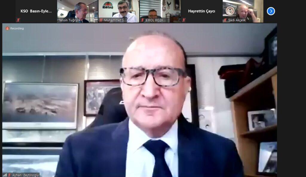 KSO Başkanı Ayhan Zeytinoğlu